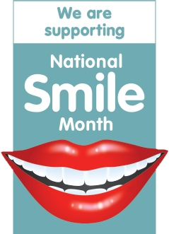 supporting national smile month