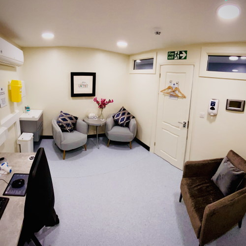 private doctor consultation room wandsworth