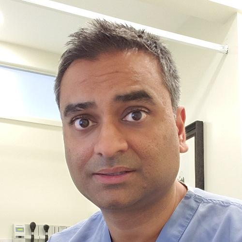 Dr Hiren Patel, GP