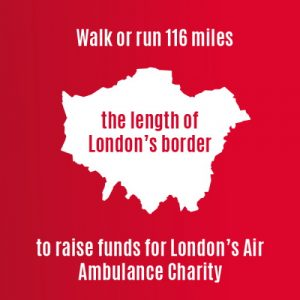 miles for missions london air ambulance