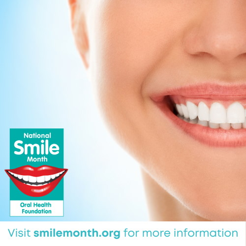 National Smile Month – Guide to Brushing